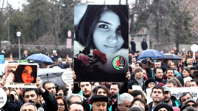 Violence against women sparks mass protests in Turkey