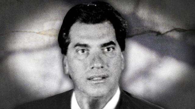 Domenico Rancadore when he was a teacher in Italy