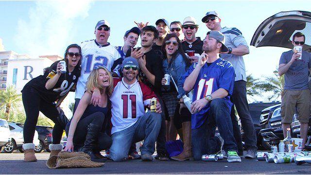 Super Bowl tailgate
