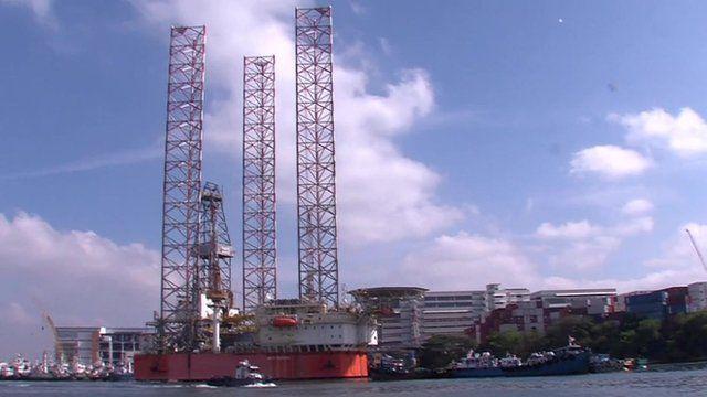 Oil rig, Singapore