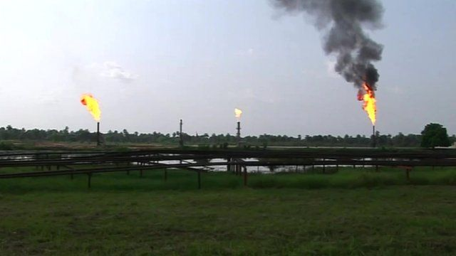 Nigerian onshore oil fields