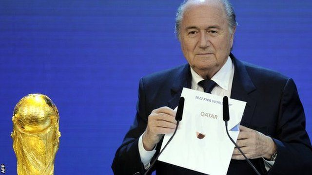 Qatar was chosen as hosts for the 2022 World Cup back in 2010