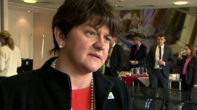 Enterprise Minister Arlene Foster said she hoped the naming of firms would act as a deterrent to others.