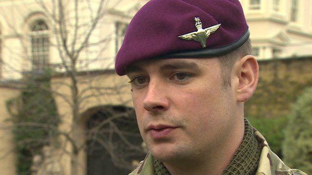 Lance Corporal Joshua Leakey