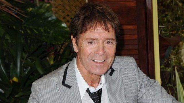 Sir Cliff Richard in 2012