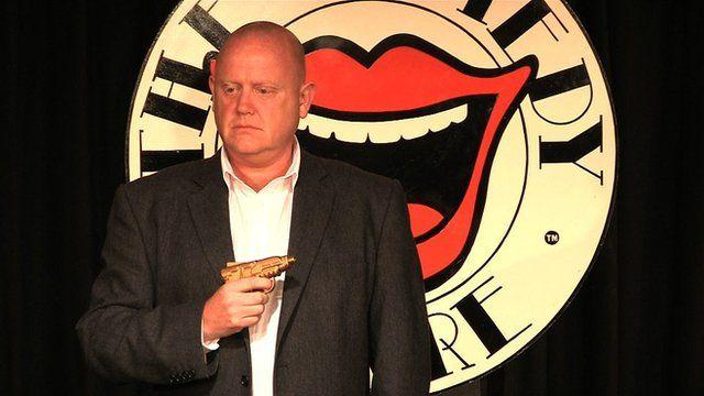 John Smith on stage