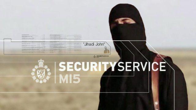 BBC MI5 Jihadi John graphic