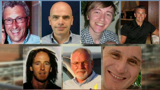 Seven British men who died in the 2013 Algerian hostage crisis