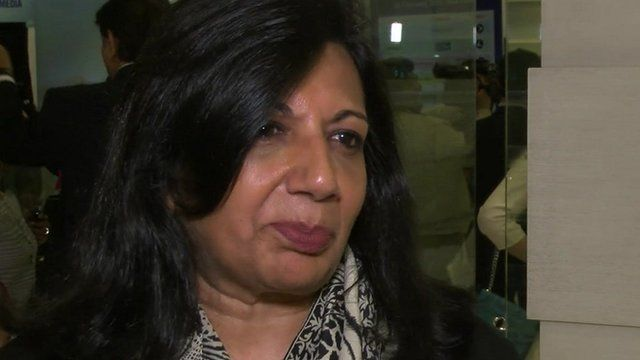 Managing director of Biocon, Kiran Mazumder-Shaw