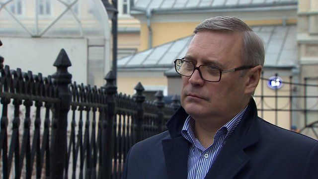 Mikhail Kasyanov