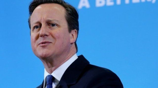 David Cameron at a campaign event in Colchester on 2 March