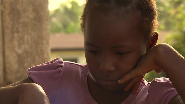 Young Liberian girl