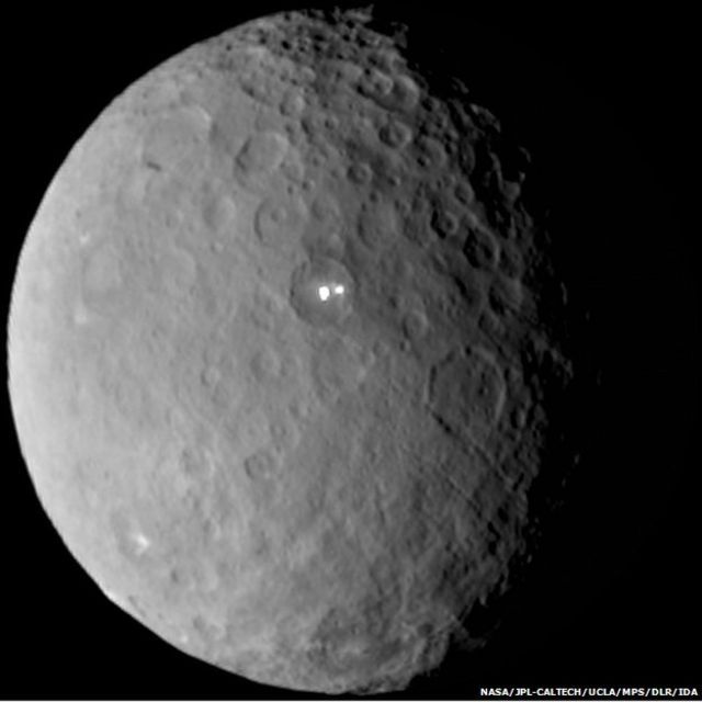 Bright spotlight on Dawn mission to Ceres