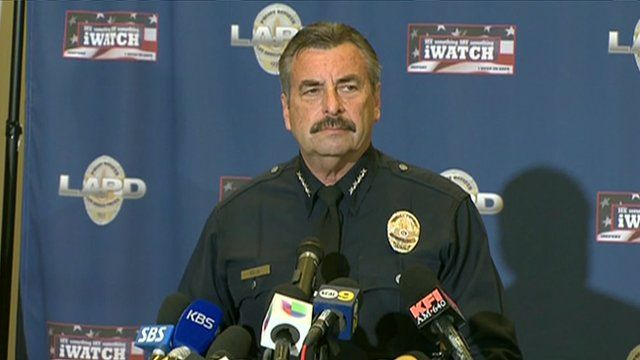 Los Angeles Police Chief Charlie Beck