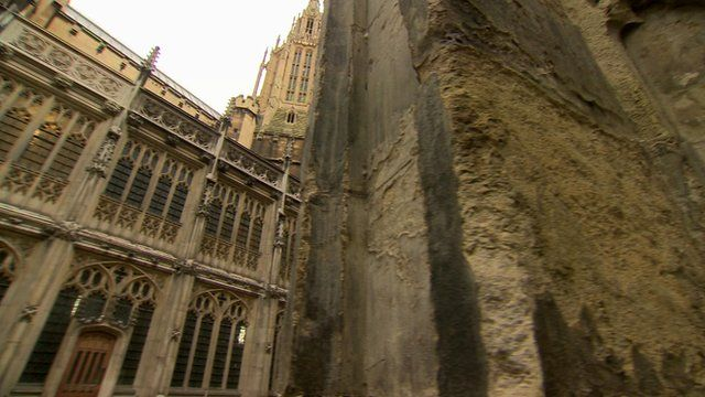 Damage at the Palace of Westminster