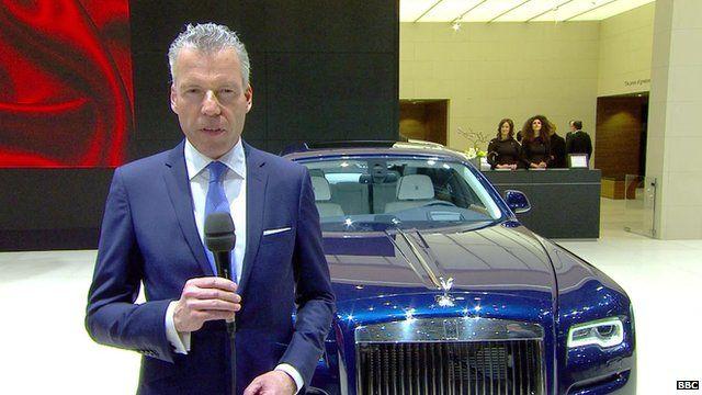 Torsten Muller-Otvos, CEO of Rolls-Royce Motor Cars
