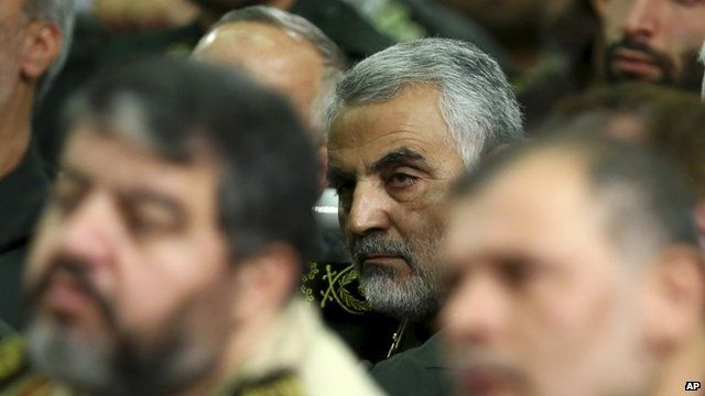 Gen Soleimani has played an important role in countering IS in Iraq 17 September 2013