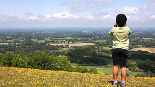 A child in West Sussex