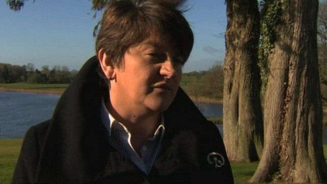 Enterprise Minister Arlene Foster said the project will bring greater energy choice for consumers