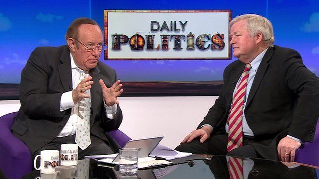 Andrew Neil and Bob Stewart