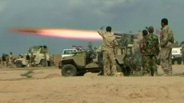 Islamic State crisis: View from Tikrit battle's front line