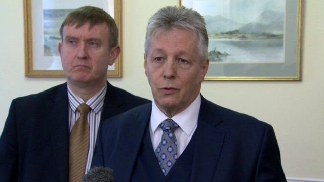 "Peter Robinson described Sinn Féin's statement as ""dishonourable and ham-fisted"