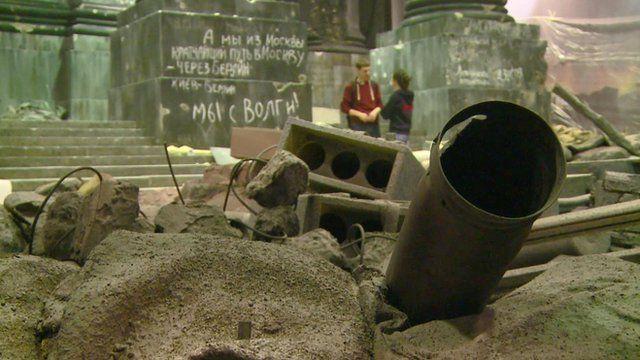 1945 Reichstag battle reconstituted