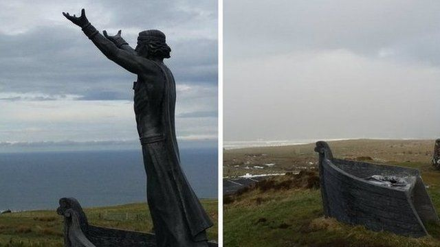 The Manannán Mac Lir statue that overlooked Lough Foyle is to be replaced at a cost of almost £10,000