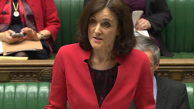 "Theresa Villiers said Sinn Féin's withdrawal of support for a welfare reform bill was ""unhelpful and hugely disappointing"""
