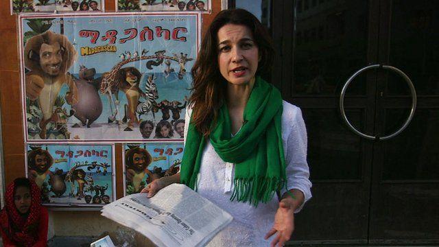 Yalda Hakim reporting from the Eritrean capital, Asmara