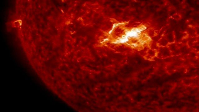 The X-class flare captured on March 11, 2015