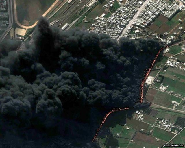 Syria's suffering revealed in satellite images