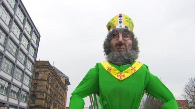 Belfast parade