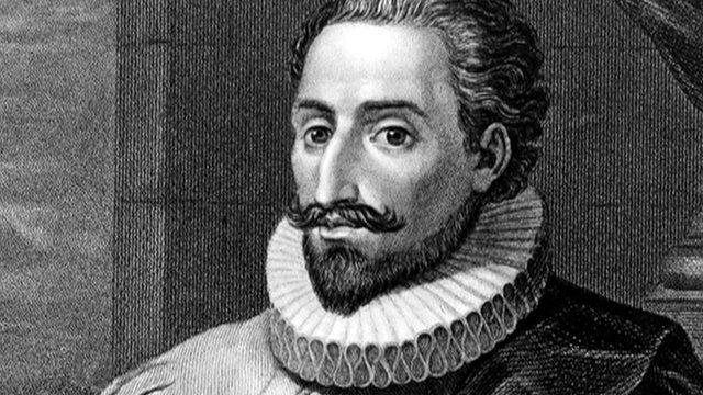 artist's imagined portrait of Cervantes