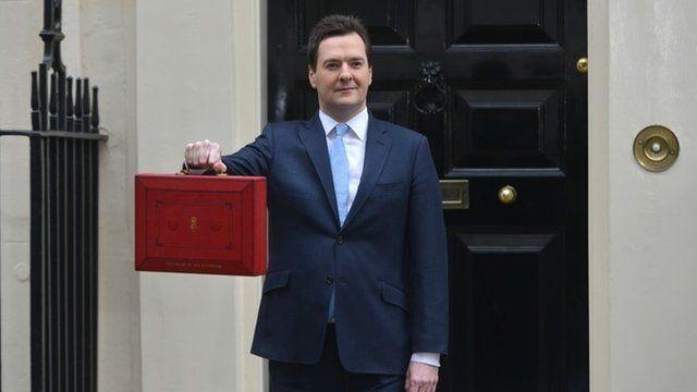 George Osborne, ahead of the 2013 Budget