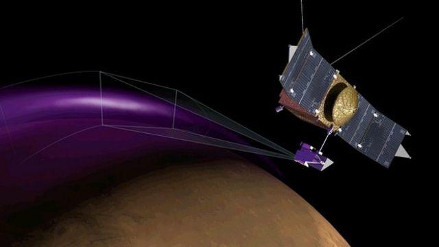 'Northern lights' observed on Mars
