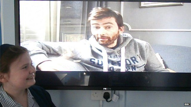 David Tennant speaks to School Reporter Grace from The Laurels School in Clapham, south London.
