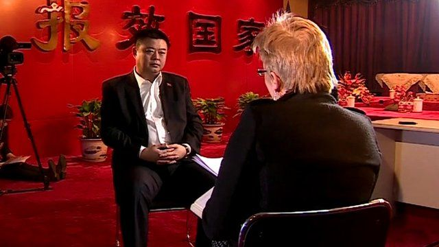 Carrie Gracie interviews Wang Jing
