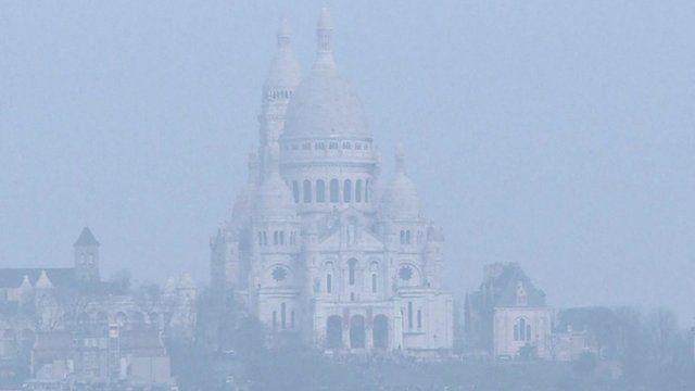 Smog over Paris