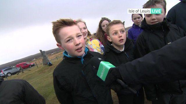 James on the Isle of Lewis