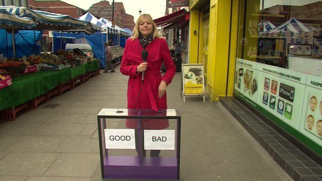 Ellie Price with Daily Politics mood box