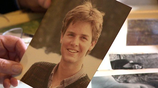 A photograph of a young Nick Clegg
