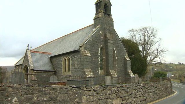 Grade II listed church in Llanuwchllyn