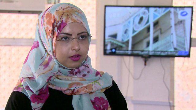 Student Sumaya Al-Mashgari