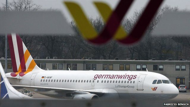 Archive pic of Germanwings plane