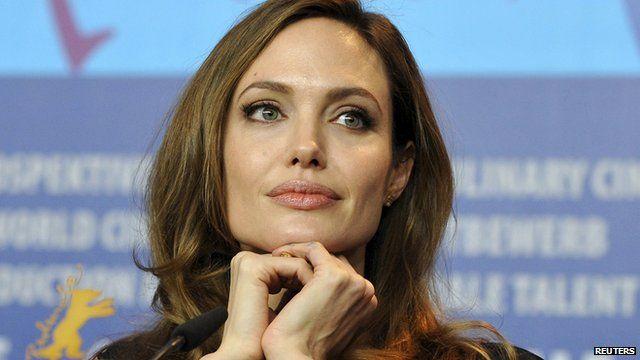 File photo of Angelina Jolie