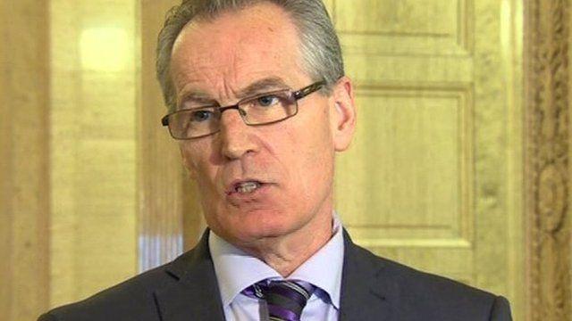 Sinn Féin's Gerry Kelly