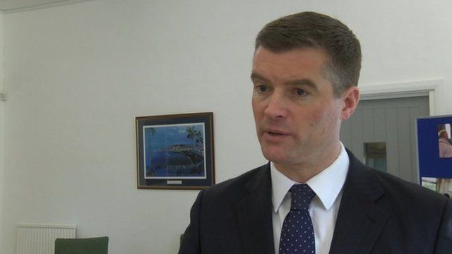 Minister of State for Disabled People, Mark Harper