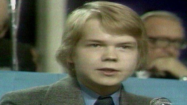 Teenage William Hague