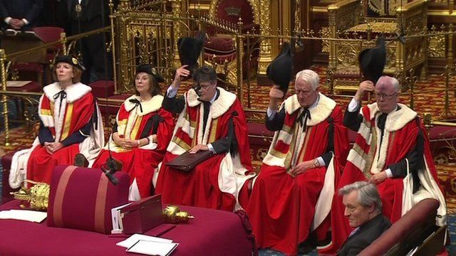 Prorogation ceremony in Parliament